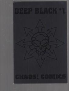 DEEP BLACK 1  SKETCHBOOK    -  CHAOS COMICS