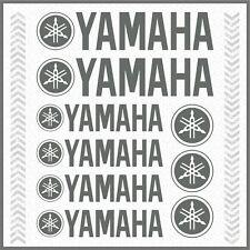 9x YAMAHA Grey STICKERS TMAX Majesty Super Tenere XT TDM TW WR XV YS YBR 1200Z