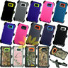 For Samsung Galaxy S6 Case Cover w/(Belt Clip fits Otterbox Defender)