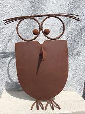 Gartenfiguren skulpturen aus metall mit v gel motiv ebay for Metall gartenfiguren