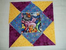 Noha's Ark Pre-Cut 9 Block Wall Hanging Quilt Kit NEW