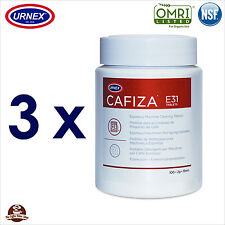 3 x Espresso Coffee Machine Cleaner Cleaning Tablets (200) Replaces Cino Cleano