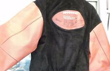 WILSON OFFICIAL NFL SUEDE & LEATHER JACKET SIZE XL  110322-1 (RO) LOC. BY8D