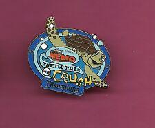 CRUSH Turtle Talk Finding Nemo Pixar AAA Vacation Splendid Disney Pin Blue Rim