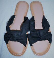 2010 Old Navy, HS Knotslide, Black, Slip On Sandals, US 8.5