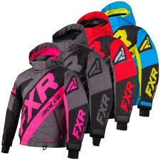 FXR Youth CX Insulated Winter Snow Jacket - Pink, Black, Red, or Blue