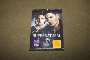 Supernatural The Complete Seventh Season DVD Box Set STILL SEALED