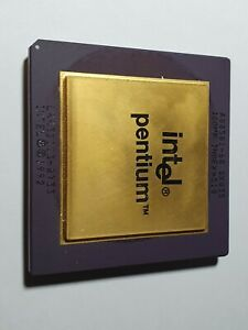 Intel - Pentium 60 - SX835 (new logo) - This processor has FDIV bug.