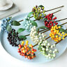 Crafts Party Supplies Fake Cherry Foam Fruit Artificial Flower Small Berries