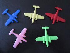 Flugzeuge aus Plastik-original DDR-unbespielt-5 Stück