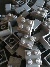 New Lego Bulk lot of 25 2x2 Bricks Dark Bluish Grey Gray Dark Grey 2 X 2