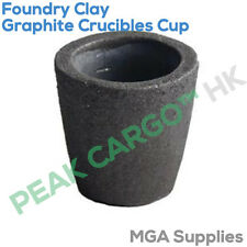 200 ml Foundry Graphite creusets Cup Four Torche Fonte Coulage Or Cuivre
