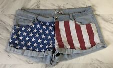 cbafc59100 American Flag Juniors Synthetic Shorts for Women for sale | eBay
