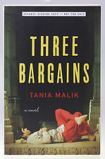 New UNCORRECTED PROOF Book THREE BARGAINS - Tania Malik Advance Reading Copy ARC