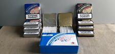 10pcs Metal cigarette case box the white sea canal Russia +100 roll paper