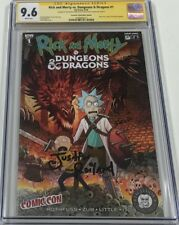 Rick And Morty vs Dungeons & Dragons #1 NYCC Signed by Justin Roiland CGC 9.6 SS