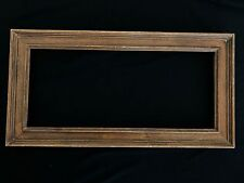 """8 3/4"""" x 21 1/2"""" - Solid wood frame by Richard Tobey - Rt10"""