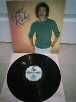 "Lionel Richie Self Titled 12"" Vinyl LP + Inner Motown STMA 8037 1982"