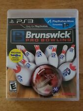Brunswick Pro Bowling PlayStation 3 PS3 Complete Move Compatible Crave Games