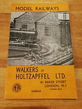 """Walkers & Holtzapffel Catalogue of Model Railway Equipment """"00"""" and """"0"""" Guage"""