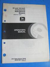John Deere 12Pc 14Sc 21 Mower Operator'S Manual Oem Factory Original