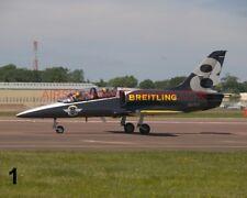 1 X AERO L-39 ALBATROSS BREITLING JET TEAM PHOTOGRAPH 1