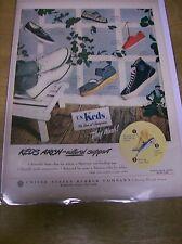 Original 1949 Keds Shoes Magazine Ad