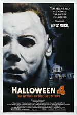 72248 HALLOWEEN 4 The Return of Michael Myers 1988 Wall Print POSTER Affiche