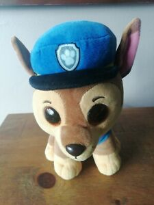 Chase Paw Patrol Plush Toy 24cm Excellent Condition