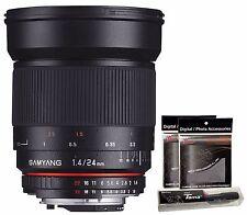 Samyang 24mm F1.4 ED AS IF UMC f/1.4 Wide Angle Lens for Nikon AE Version DSLR