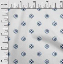 oneOone Cotton Poplin Fabric Circle Ikat Fabric Prints By Yard 42-DYr