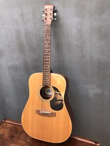 (damaged) CHARVEL Jackson Acoustic Guitar Texas USA