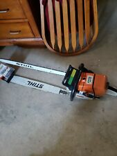 Stihl ms 460 3/4 wrap w/ 2 28 inch bars and 3 new chains. Master Mind Worksaws!