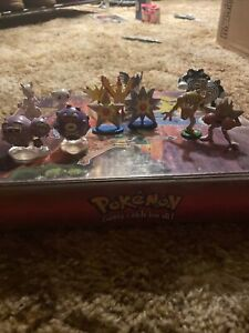 Pokemon Tomy Figures Lot of 13 1999 Perfect Condition!