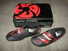 NEW Bont A Three BLACK Cycling Shoes EU sz 40, men 6.5-7 women 8, 3 bolt cleat