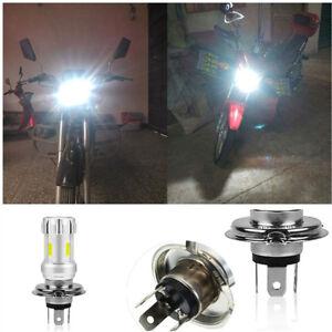Aviation Aluminum Radiator Super Bright White H4 LED Bulb Motorcycle Headlight