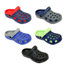 Boys Little Kid Beach Garden Clogs Water Shoes Summer Slip On Sandals Anti-Slip