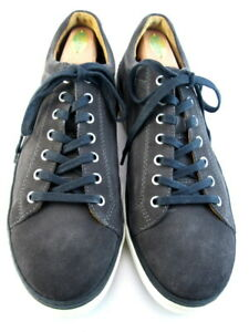 "NEW Allen Edmonds ""PORTER DERBY"" Men's Suede Sneakers 10.5 E  Grey Suede (480)"