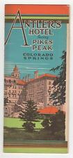 Antlers Hotel Facing Pike's Peak, Colorado Springs. The Antlers, [ca. 1915].