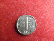 * Finnland 1 Markkaa 1965 Silber *  (Schub21)