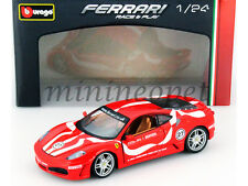 BBURAGO 18-26009 FERRARI F-430 COUPE FIORANO #27 1/24 DIECAST MODEL CAR RED