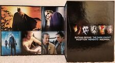 Christopher Nolan Director's Collection 7 Blu-Ray set Inception Batman Insomnia