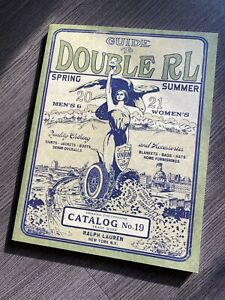RRL Catalog Double RL Spring Summer 2021 Ralph Lauren Book Magazine Polo