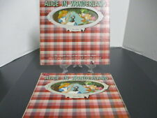 Walt Disney Presents Alice in Wonderland Albums X 2