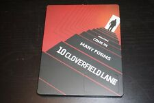 10 Cloverfield Lane STEELBOOK (Blu-ray) Near Mint