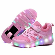 Kids LED Light Roller Shoes For Boy Girl Luminous Skate Sneakers With Wheels