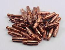 Ø1,0mm M6 Stromdüse / Schweißdüse Für MB24 MB25/250 MIG MAG Schweißbrenner 50St