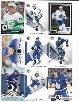 Toronto Maple Leafs 475 Card Sorted Lot w MATTHEWS / SUNDIN / JOSEPH - No Dupes!