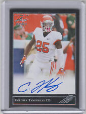 CORDREA TANKERSLEY 2017 Leaf Ultimate Draft Football 1992 AUTO Dolphins Tigers