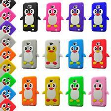 Handyhülle  Apple Iphone 5 5S Silikon Schutzhülle Cover Tasche Hülle 3D Pinguin